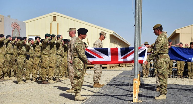 US Marines, British Forces End  Afghan Operations, Prepare Withdrawal