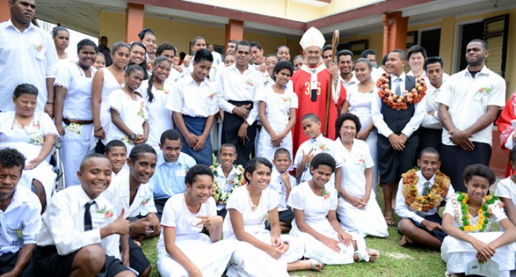 Tamavua Parish Marks Confirmation