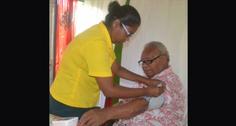 Health Experts Visit Namoli Village