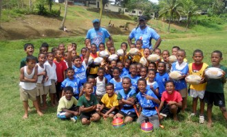"""Dilkusha Primary School """"Gets Into Rugby"""""""