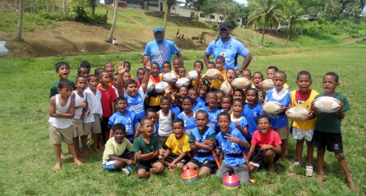 "Dilkusha Primary School ""Gets Into Rugby"""