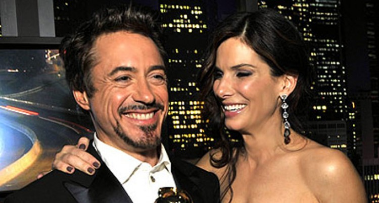 Downey Jr, Bullock Highest Paid Stars