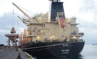 Final Works On Shore Cranes At Port
