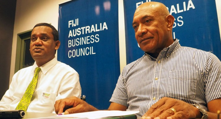 Bishop Keeps Promise To Attend Fiji-Australia Business Forum