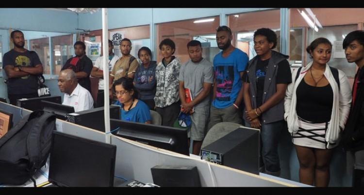 Students Tour Fiji Sun Operations