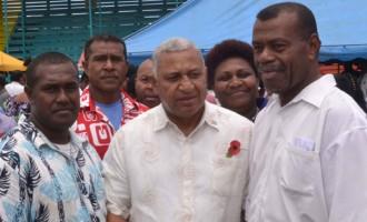 FijiFirst Support Humbles PM Bainimarama