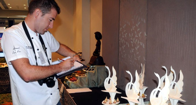 NZ Chef & Judge  Impressed