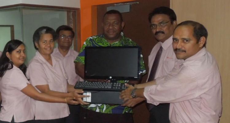 Bank Of Baroda Donates Computers To School