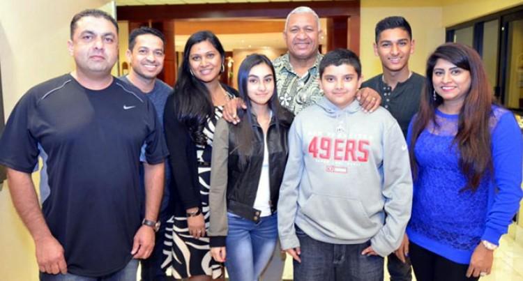 USA Fijians,  PM Celebrate