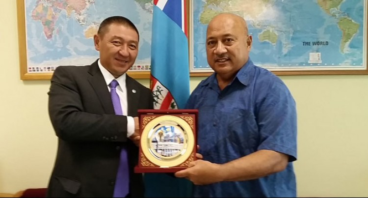 Fiji Seeks Scholarships From Kazakhstan