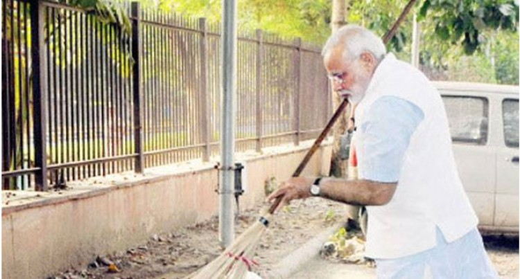 Modi's 'Swachh Bharat' Initiative