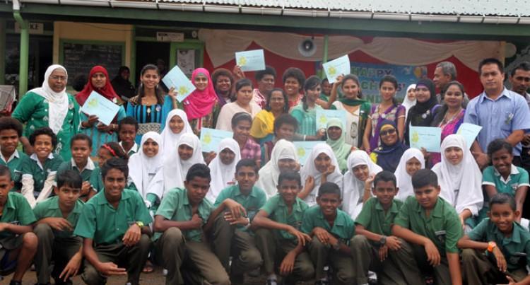 Nasinu Muslim Students Treat Teachers