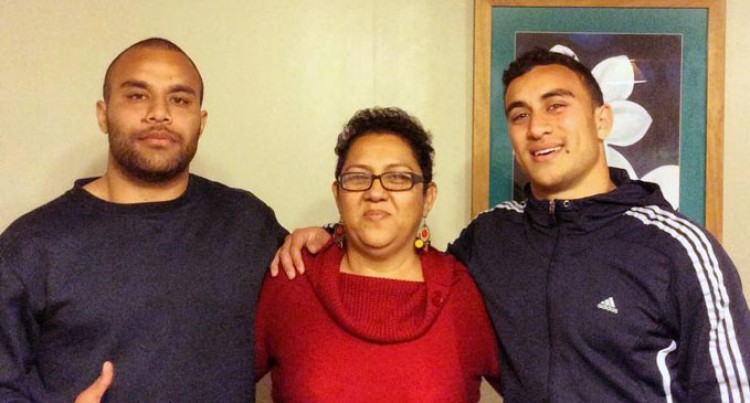 Daphne's Boys Make Family Proud