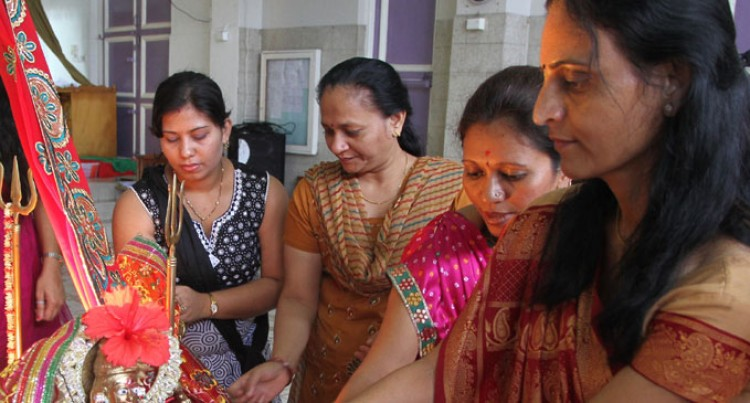 Hindu Festival Ends