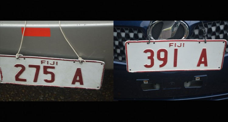 Part 2:  Following Number Plate Regulations