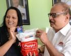 Rosy Akbar Gets 245 Gift Packs To Bring Joy