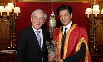 Shah Rukh Khan's London Award