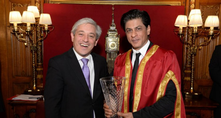 Shah Rukh Khan's London Award
