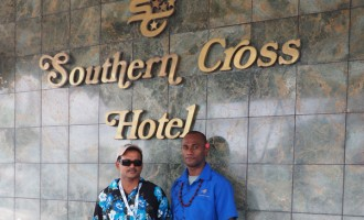 Cruise Passenger Ali Revisits Old Workplace In Suva