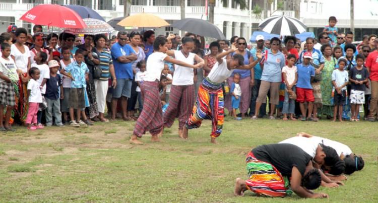 Young Fijians At Albert Park Event