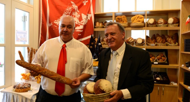 Swiss Bakery Officially Opens For Business