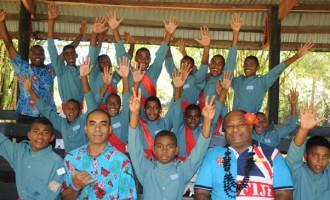 Naviti Resort Treats Tagaqe Boy Scouts