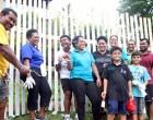 UN Fiji Staff Clean Up At Dilkusha Home