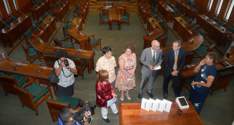 Parliament Soars  With iPad Air