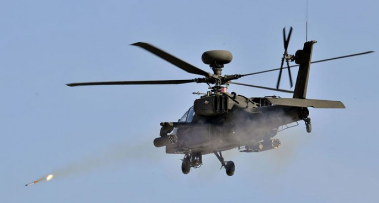 Apache Choppers Used Against IS