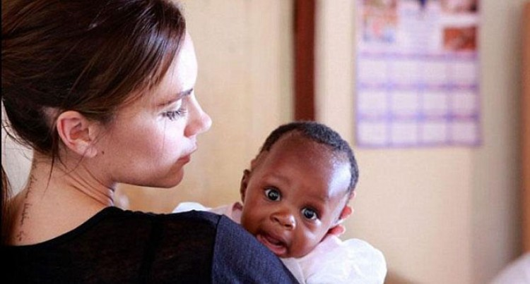 Victoria Vows To Protect African Babies From Aids