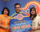 Vodafone's Lottery Gains Country-Wide Attention