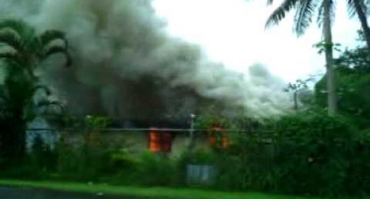 Baby dies in house fire