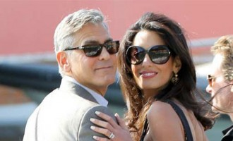 Clooney Faces 50,000 pounds Bill for Marital House