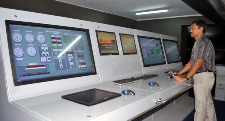 Marine Simulators Installation Soon