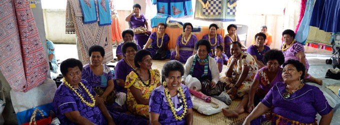 Lau Women Fundraise, Exhibit Handicrafts