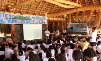 Students,  Stakeholders Plant Mangroves