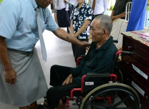 Ministers Visit Old Peoples Home