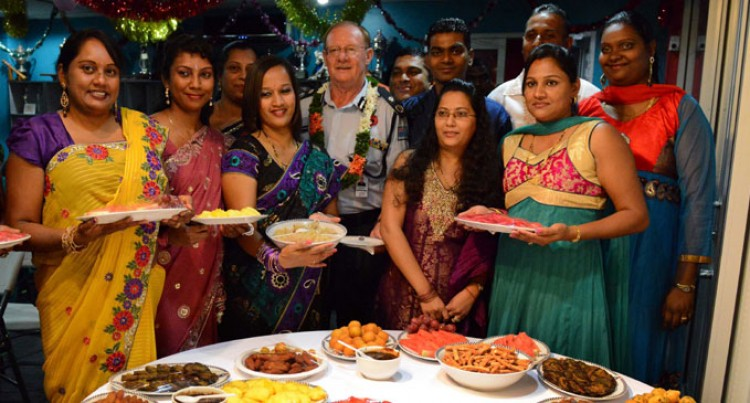 Officers Share Diwali 'Love'