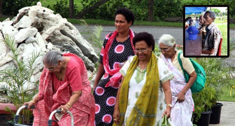 Senior Citizens Celebrate Diwali