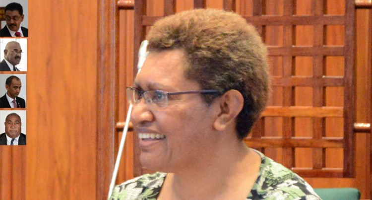 Fiji MPs In Wellington Today