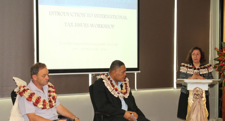 FRCA Hosts International Tax Issues Workshop
