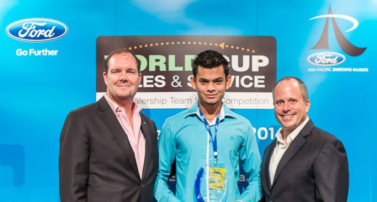 Shreedhar Motors Wins Technician Skills Challenge In Ford World Competition