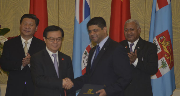 Xi Pledges Continued Help To Fiji