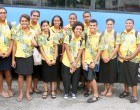 Students Leave For New Caledonia