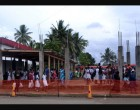 Temporary Bus Stand 'Worry'