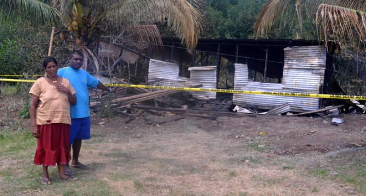 Fire Destroys Home In Labasa