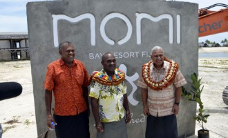 Momi Bay Lifts Fiji