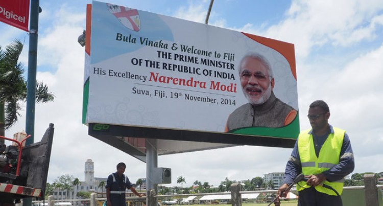 Suva Cleans Up For Prime Minister Modi