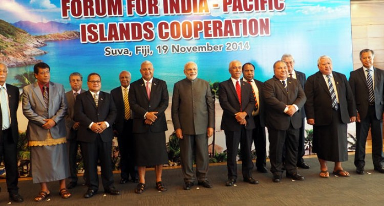 Pacific Leaders Talk With Modi