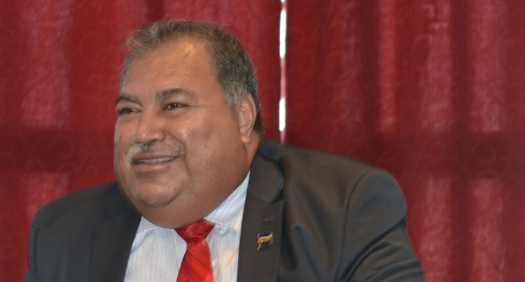 Nauru Leader Excited